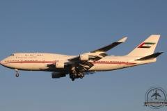 A6-MMM Dubai Air Wing B747-400 Ikarusstr. Anflug 05R