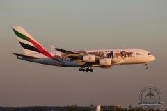 A6-EEG A380 Emirates Wildlife Pizzabude