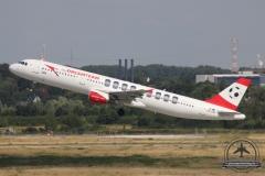 OE-LBA A321-200 Austrian Airlines P7